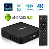 Android 9.0 TV Box, TaNix TX5 Pro Android TV Box 4GB RAM 32GB ROM Dual Band WiFi 2.4G+5G Amlogic Quad Core S905X2 / BT 4.0 / Alice UX/Supporting 4K (60Hz) Full HD/3D/HD 2.0/H.265 Smart TV Box