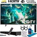 Samsung UN65RU8000 65' RU8000 LED Smart 4K UHD TV (2019) w/Soundbar Bundle Includes, Deco Gear Home Theater Surround Sound 31' Soundbar, Screen Cleaner, 2X HDMI Cable and 6-Outlet Surge Adapter